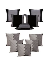 Set Of 10 Ultima Silver  Cushion Cover - By