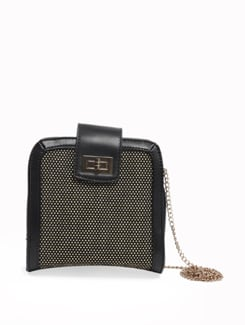 Black Shoulder Bag - Pavers England