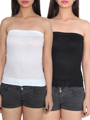 white viscose camisole -  online shopping for Camisoles