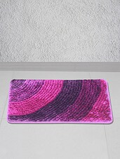 Pink Polyester Floor Mat - Story @ Home