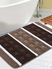 multi colored polyester bath mat -  online shopping for bath mats