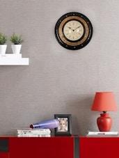 Multicolour Wooden Wall Clock - ECraftIndia