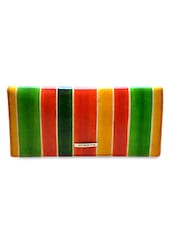 Multicolour Leather Wallets - By