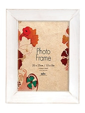 White Plastic Photo Frame - Innova