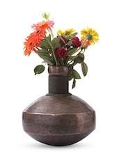Gold Iron And  Copper Planter - Papallona Designs - 1172582