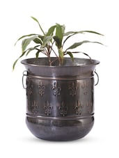 Multi-coloured Iron And  Copper Planter - Papallona Designs - 1172590