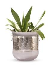 Gold Iron And  Nickel Finish Planter - Papallona Designs - 1172594