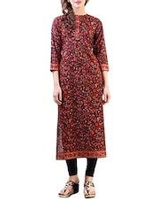black cotton kurti -  online shopping for kurtis