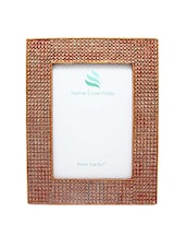 Copper Wooden Photo Frame - By