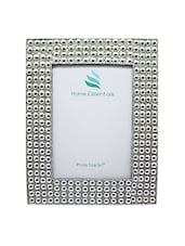 Silver Wooden Photo Frame - By