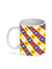 Multicolour Dinosaur Kids Ceramic Mug - By