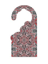 Multicolour Printed MDF Door Hanger - Thin N Fat