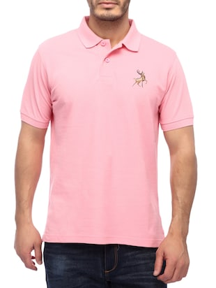 pink cotton tshirt -  online shopping for T-Shirts