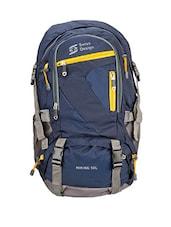 Blue Nylon Trekking Bag - By