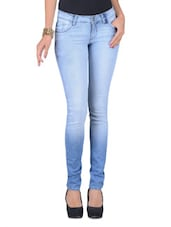 Blue Denim Slim Fit Jeans - By