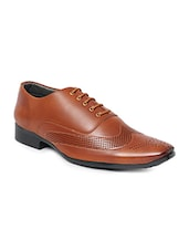 tan Leather oxford -  online shopping for Oxfords