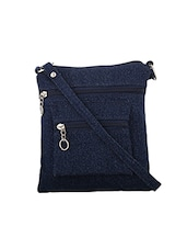 blue cotton sling bag -  online shopping for sling bags