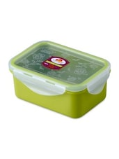 Green Melamine Rectangular Food Container - By