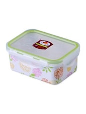 Multicolor Melamine Rectangular Food Container - By