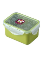 Green Melamine Rectangular Food Container - By - 1218722