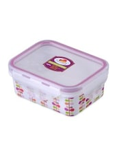 Multicolor Melamine Rectangular Food Container - By - 1218724