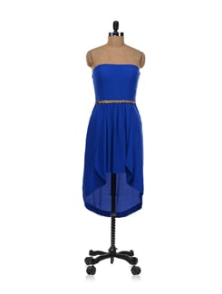Electric blue lily tube dress - Forever  New