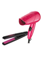 Philips HP8643/46 Hair Straightener And Dryer Combo For Women - By