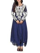 Heavy Embroidered Long Sleeves Suit Set - By