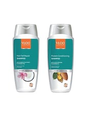 VLCC Protein Conditioning Shampoo 100ml+ Hair Fall Repair Shampoo 100 Ml - By