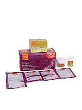 VLCC Silver Single Facial Kit With Bleach 6.6g - By