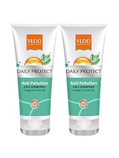 VLCC Daily Protect Anti Pollution Face Wash 50ml ( Pack Of 2 ) - By