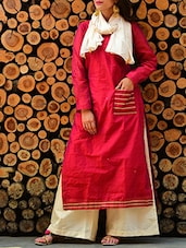 red kurta set -  online shopping for Sets
