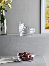 Elegant Glass Bowl Set Of 4 - By