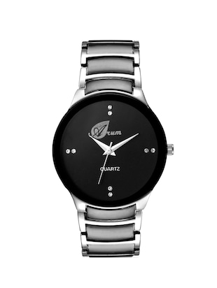 Arum Stylish Black Cat Watch For Men -  online shopping for Analog Watches