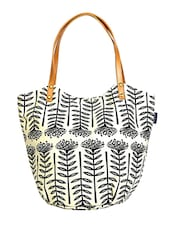 multi printed canvas tote -  online shopping for Totes