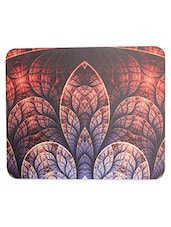 Brown Printed Rubber Mouse Pad - By