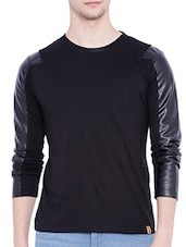 black cotton tshirt -  online shopping for T-Shirts