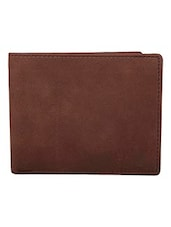 brown & cream leather wallet -  online shopping for Wallets