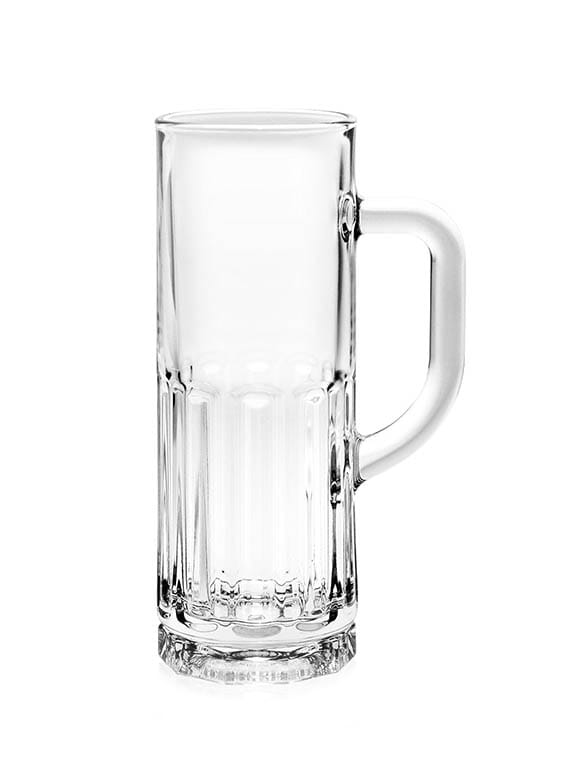 Glass Berliner Beer Mug (Set Of 3) - By