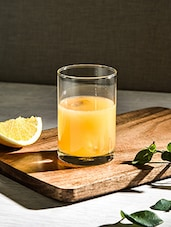 Transparent Glass Tumbler (Set Of 6) - By