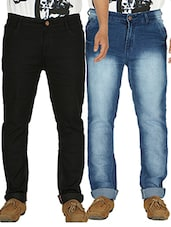 multi denim washed jeans -  online shopping for Jeans