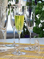 Champagne Flute Set Of Six - By