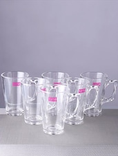 Transparent Coffee Mug (Set Of 6) - By