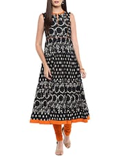 black cotton regular kurti -  online shopping for kurtis