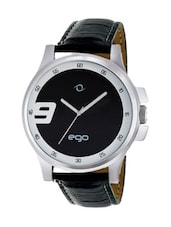 Ego By Maxima Black Dial Analog Watch - E-01022LAGC -  online shopping for Analog Watches