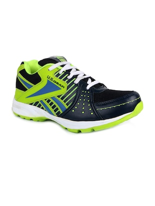 green mesh lace up sport shoes -  online shopping for Sport Shoes