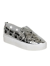 silver  plimsoll shoe -  online shopping for Casual Shoes