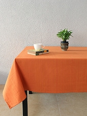 House This Frida Sombre 100% Cotton Table Cover - Orange - By