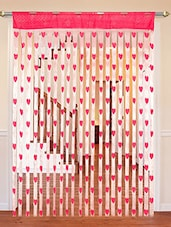 Heart Shape String Door Curtain -  online shopping for Curtains