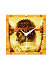 Multicolor Engineered Wood Street Fighter Wall Clock - By